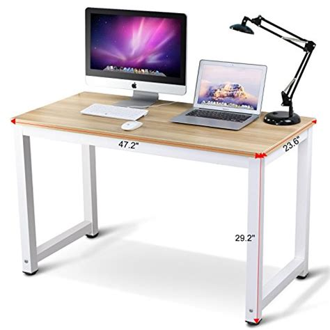 simple modern desk 41 tribesigns modern simple style computer desk pc