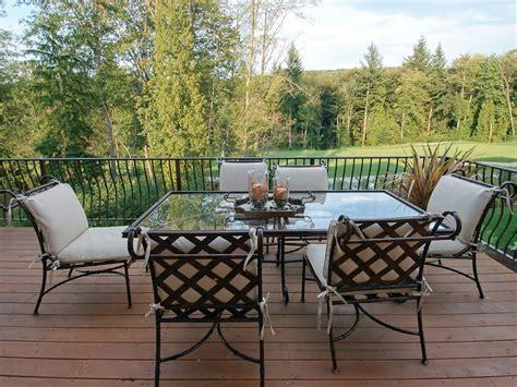 aluminium patio furniture sets cast aluminum patio furniture hgtv