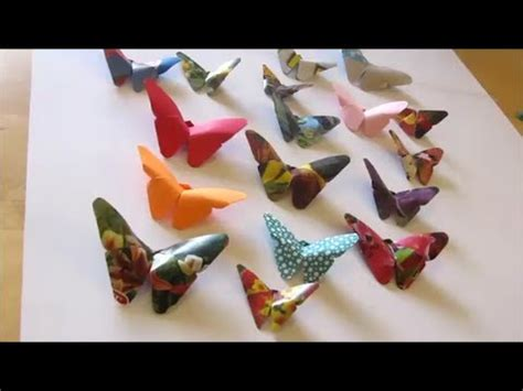 how to make paper arts and crafts and craft how to make origami butterfly 2