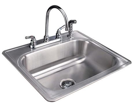 menards kitchen sink tuscany 8 quot single bowl stainless steel kitchen sink kit at
