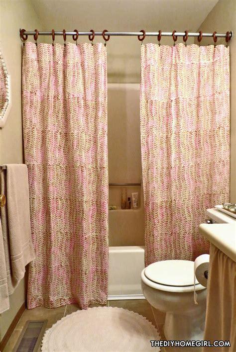 bathroom ideas with shower curtains warm feminine apartment bathroom makeover the decor guru