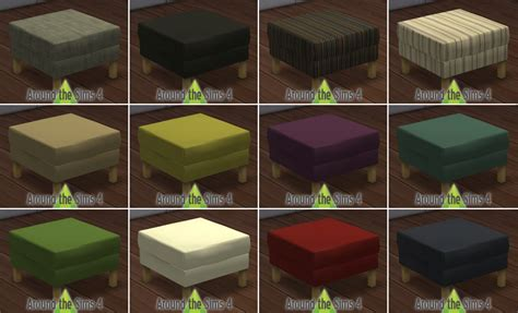 around the sims 4 custom content objects ikea living room