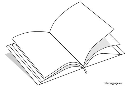 coloring pictures of books open book coloring page