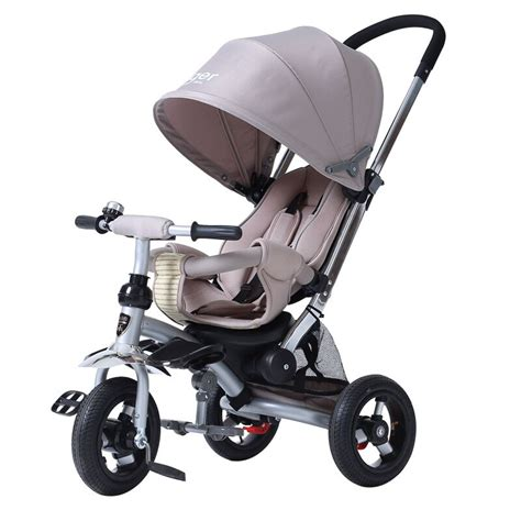 rubber st roller 3in1 baby tricycle high quality baby stroller trike 3