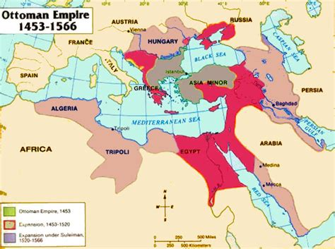 ottoman turks 1453 the ottoman empire maps