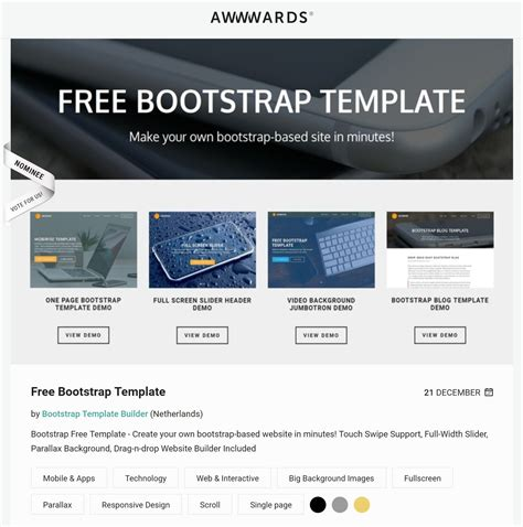 free version best free html5 background bootstrap templates of 2017