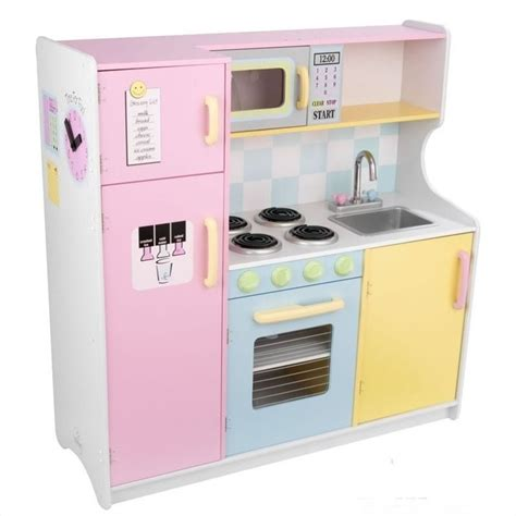 kid craft kitchen kidkraft pastel play kitchen 53181