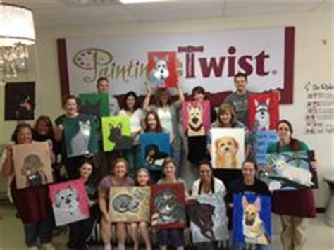 paint with a twist killeen paint your pet harker heights tx painting class