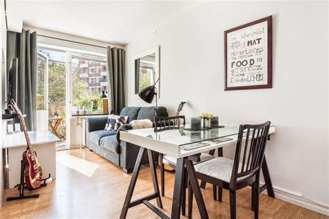 tiny ground floor apartment with complementary