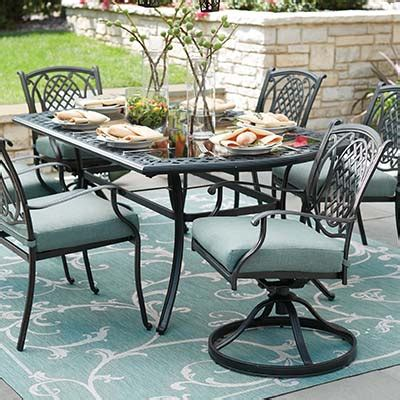 metal patio dining sets metal patio furniture sets pieces the home depot