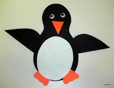 penguin crafts tippytoe crafts penguins