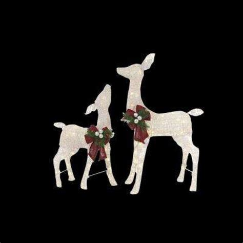 lighted reindeer yard decorations yard decorations outdoor decorations