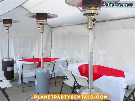 patio heaters rentals outdoor patio heater rentals with propane tank balloon