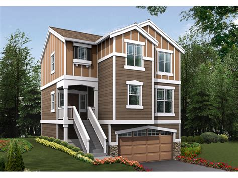 homes for narrow lots nona heights narrow lot home plan 071d 0019 house plans and more