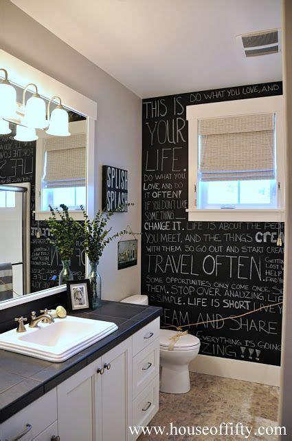 chalkboard paint ideas bathroom interior chalkboard designs renovator mate