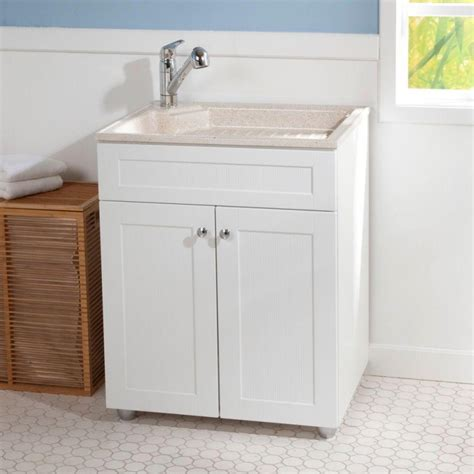 laundry sink with cabinet laundry room utility sink cabinet bee home plan home decoration ideas
