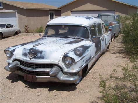 1955 Cadillac Hearse by 1955 Cadillac Aj Miller Deluxe Landau Hearse Three