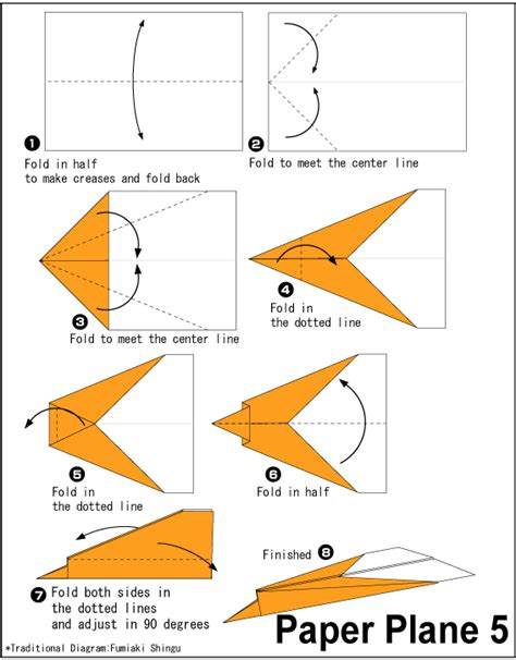 origami plane easy easy origami origami paper plane 5