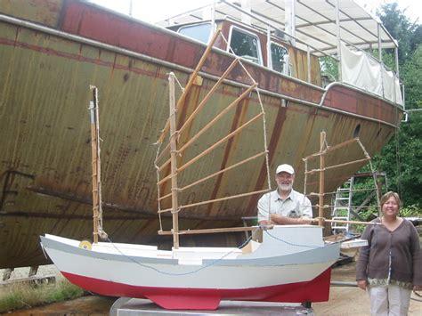 origami steel sailboat august 2007