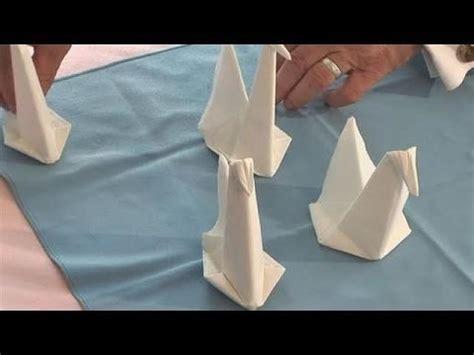 origami napkin swan decor 28 creative napkin folding techniques 2495110