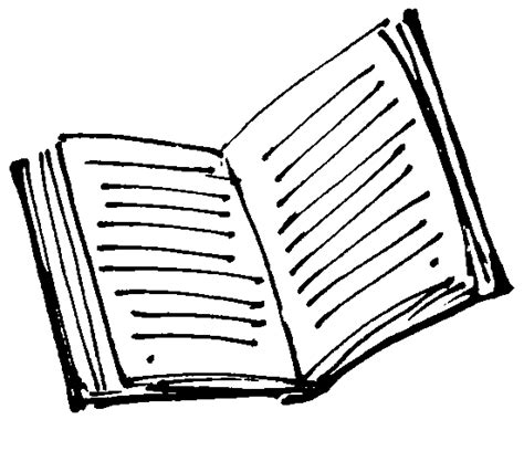 drawing book pictures open book line drawing clipart best clipart best