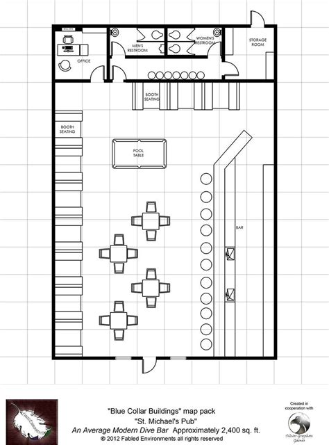 bar floor plans modern floorplans st michael s pub an average modern