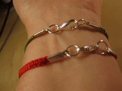 how to add a clasp to a beaded bracelet day 30 macrame bracelet dianne faw