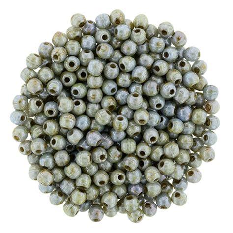 bead catalogs 2mm luster opaque green starman