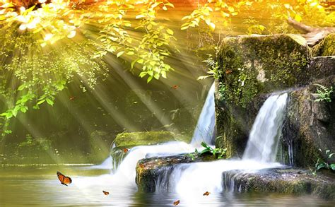 Car Wallpapers Desktops Nature Sounds by Animated Waterfall Wallpaper With Sound Wallpapersafari