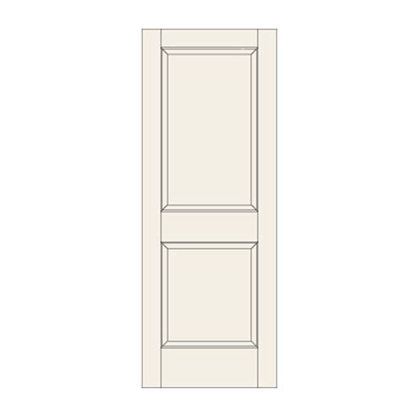 22 interior door c22 two panel door craftwood products for builders and