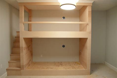 how to make built in bunk beds one room challenge week 2 diy built in bunkbeds for