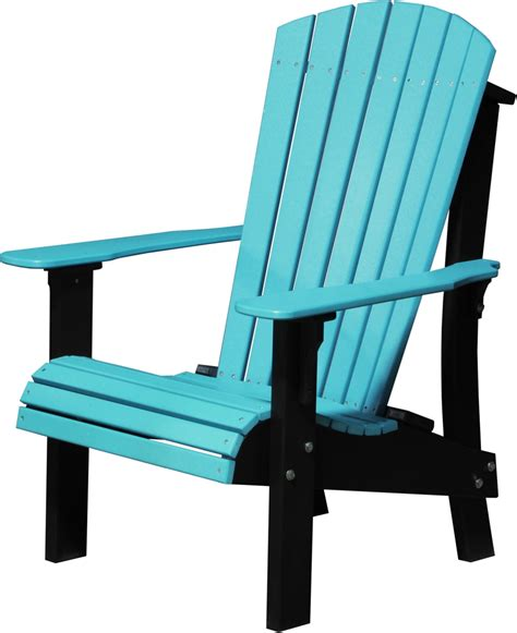 Luxcraft Adirondack Chairs by Luxcraft Poly Royal Adirondack Chair Comfort Height