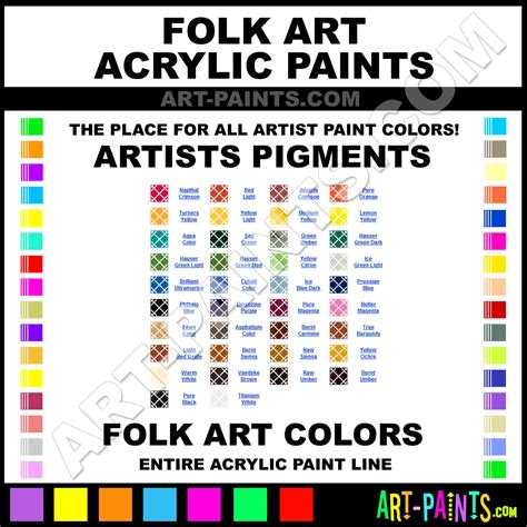 can folk acrylic paint be used on fabric folk artists pigments acrylic paint colors folk