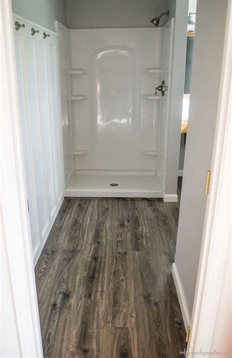 floor and more decor flooring in the bathroom and laundry room
