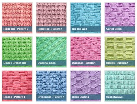 knitting directions 306 best knitting stitches images on
