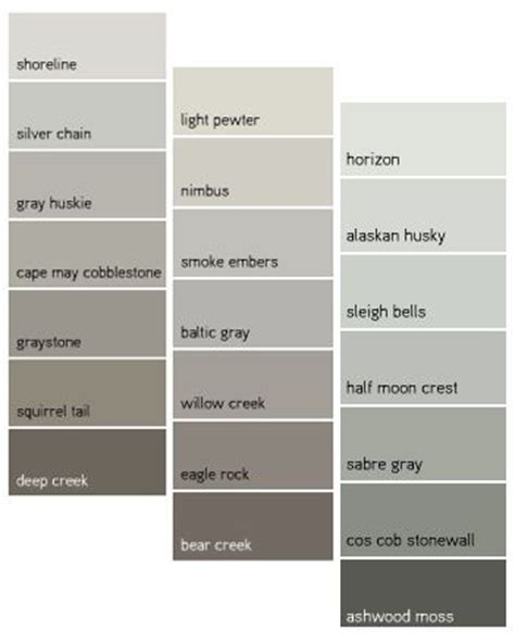 paint colors gray tones 17 best ideas about benjamin gray on