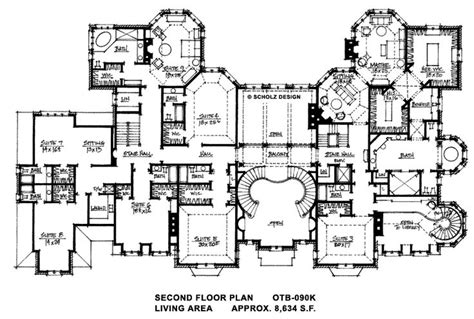 floor plans mansions floor plans for big mansions