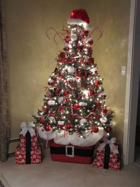 santa tree decorations sew many ways santa claus tree