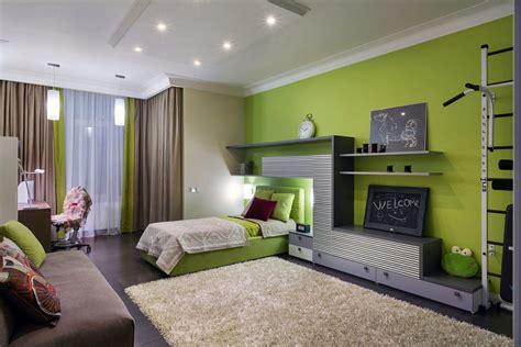 green interior design combination of the green color in the interior