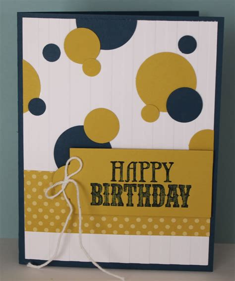 easy to make birthday cards for just julie b s stin space n easy birthday card