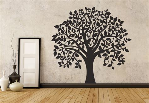 wall decor tree stickers flowers and trees wall decals home decor shop tree