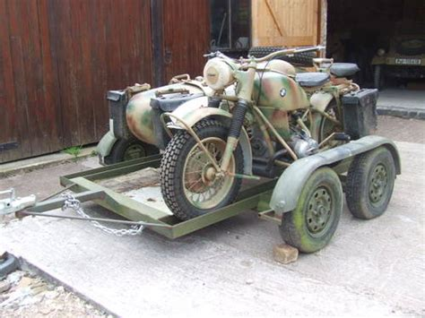 Bmw R75 For Sale by Bmw R75 For Sale With Transporter Trailer Sold 1942 On