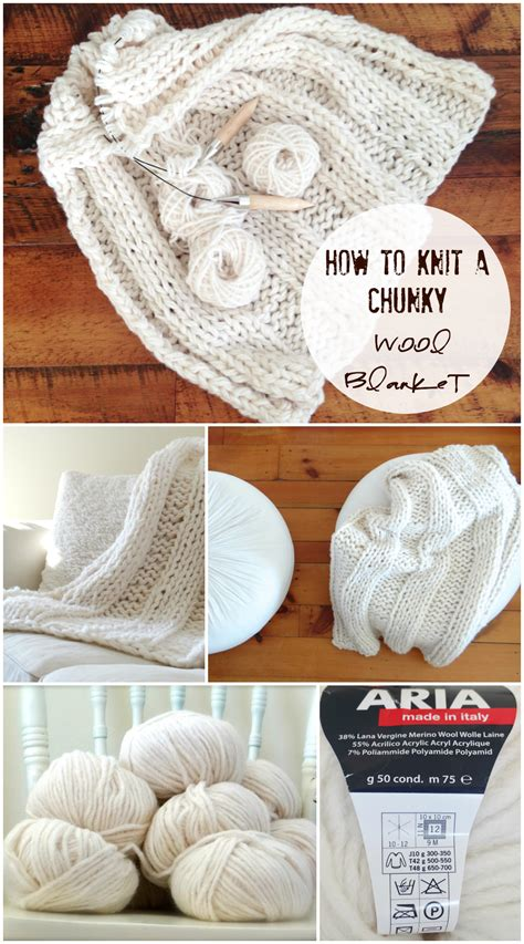 how to knit chunky blanket free chunky wool blanket pattern design the you