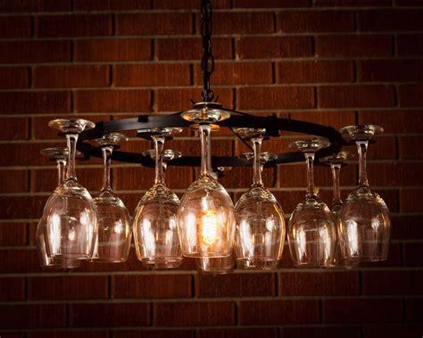 vine chandelier wine glass chandelier pendant style light lighting wine