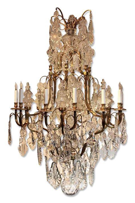 louis xv chandelier large louis xv style bronze chandelier olde