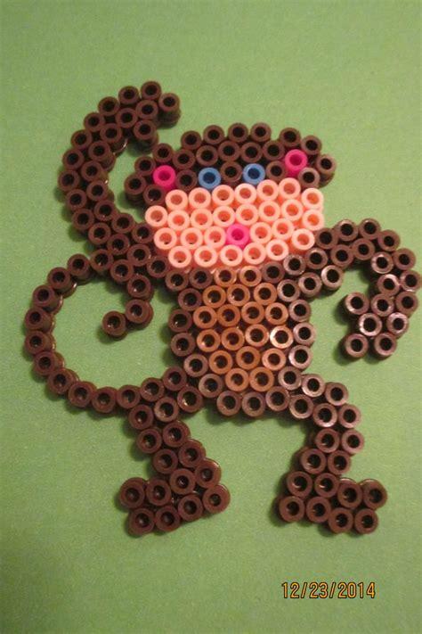 perler monkey pattern 117 best images about perler patterns on
