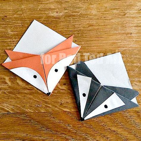 easy paper craft badge crafts simple paper bookmark ted s