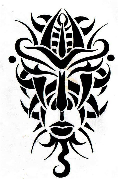 tribal mask south africa by roxenabernardi on deviantart