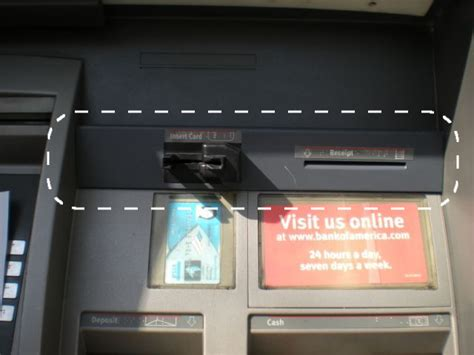 how to make a card skimmer here s what a card skimmer looks like on an atm consumerist