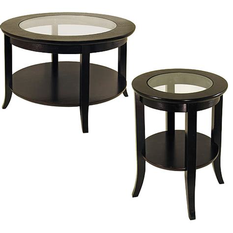 coffee table and end table genoa 2 coffee end table value bundle espresso